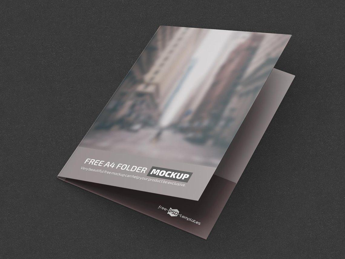 Download Free A4 Folder Mockup PSD Set - Good Mockups