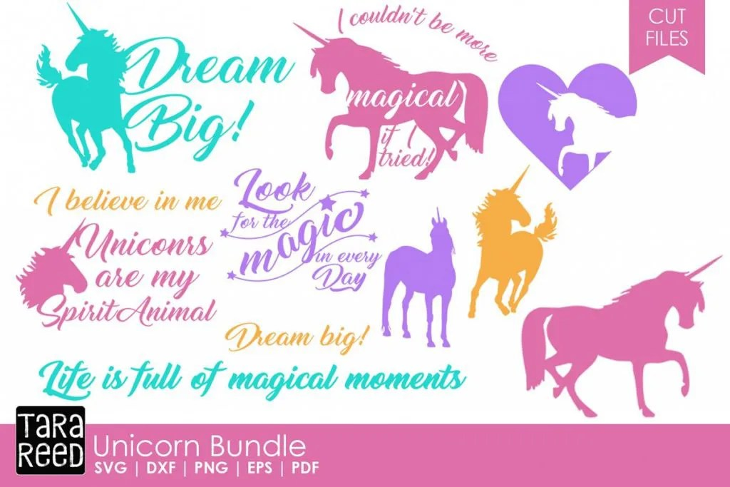 Unicorn Svg Files Get Inspired Good Morning Chaos