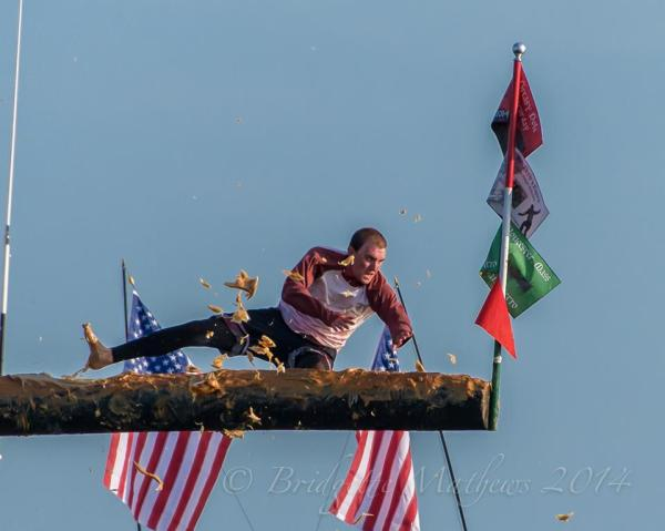 The Greasy Pole Flag | GoodMorningGloucester