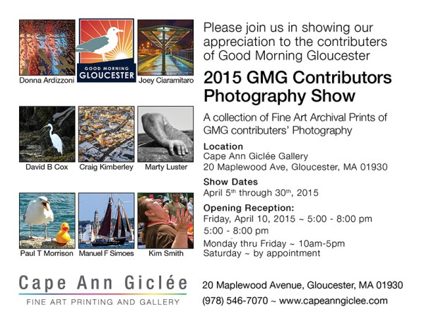 Good Morning Gloucester Cape Ann Giclee Photography Show ...