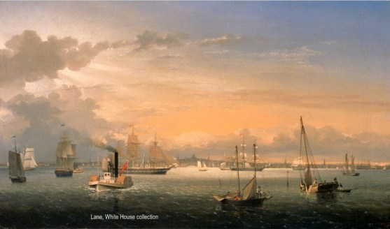 Boston Harbor, Lane, White House collection-001