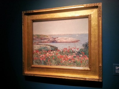 Poppies, Isles of Shoals,1891 National Gallery of Art acquisition in 1997