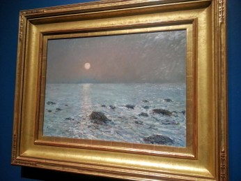 Childe Hassam, Moonrise Isle of Shoals, 1899, collection Donald Head, Old Grandview Ranch, CA