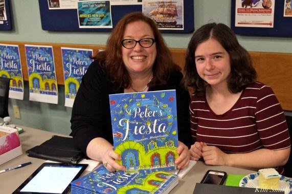 Jenn Cullen Alice Gardner book launch copyright Kim Smith