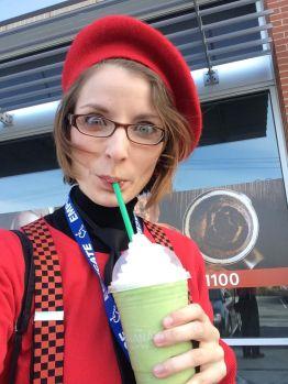 I had a weak moment at a Starbucks...