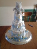 Diaper Cake Finished
