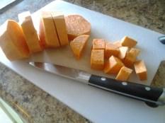 Diced Sweet Potato