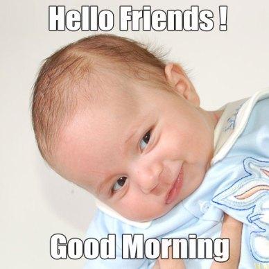 Good Morning Baby Meme For Her