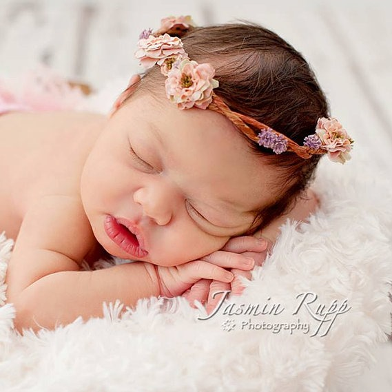 Flower Crown Newborn