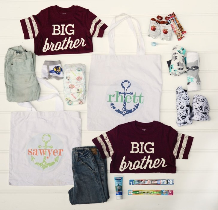 hospital bag for siblings when mom goes to hospital what to pack for brother sister vacation travel baby is born