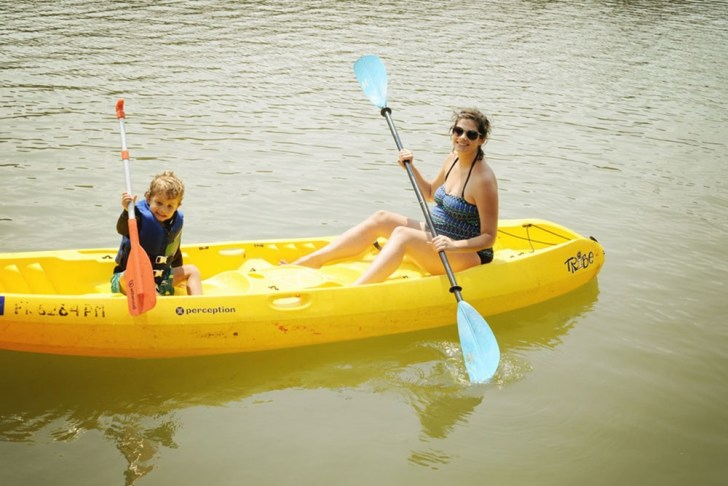 Kayaking-Pregnant