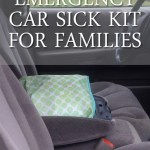 Car Emergency Sick Kid Kit