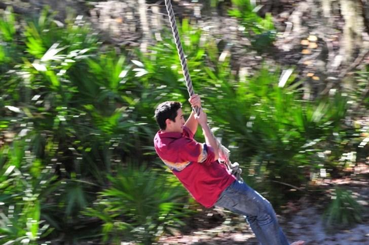 Jeykll island rope swing