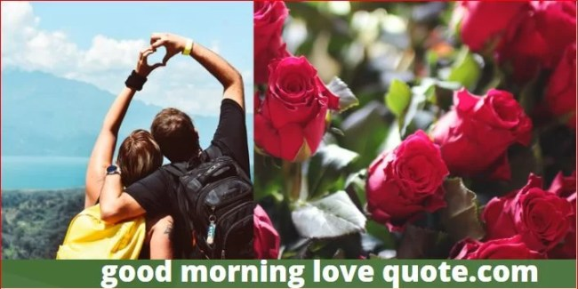Best Romantic & Sweet Good Morning Love Quotes Image 2