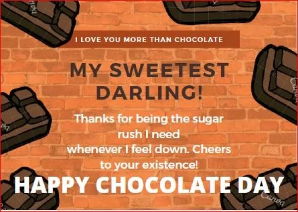 Best Chocolate Day Quotes and Wishes Image 1