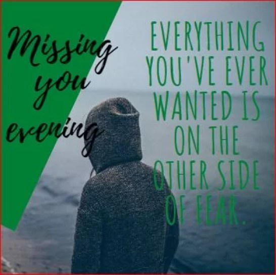missing you evening images pics quotes messages.Love You sad