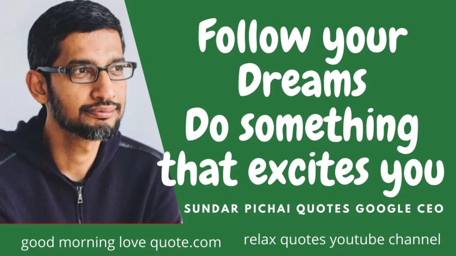 Best Motivational Sundar Pichai Quotes on Life Image 2