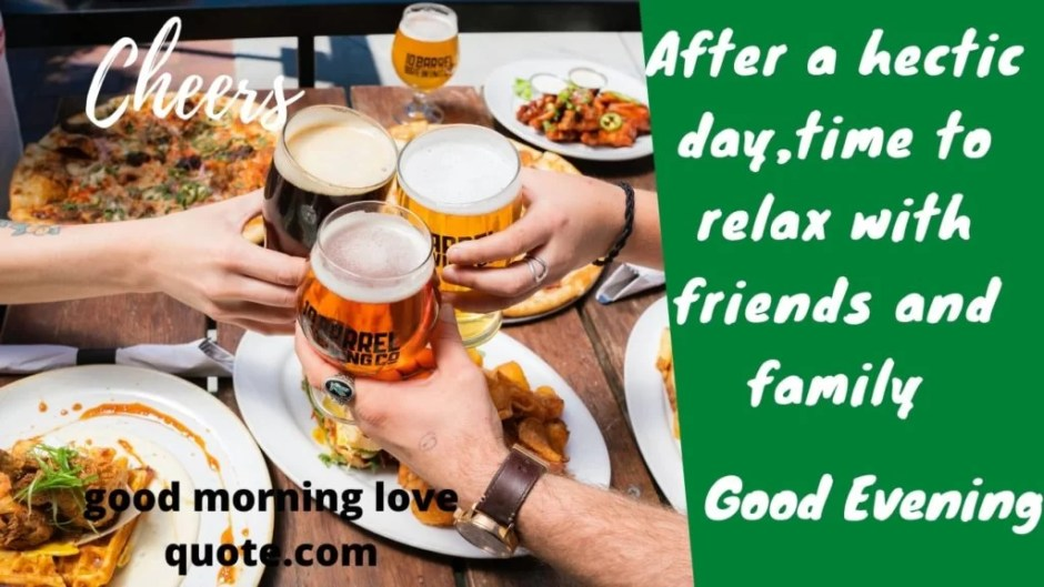 10 Best Good Evening Messages For Friends