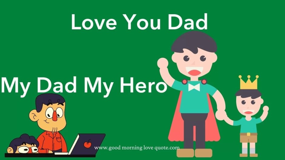 Love You Father Quotes