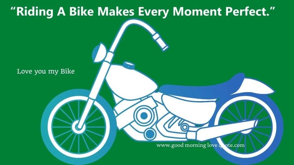 Motivational Bikers Quote