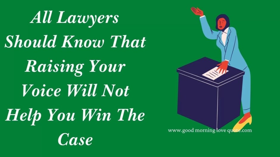 successful lawyer quotes