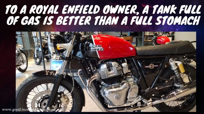Love Attitude Royal Enfield Captions Sayings for Royal Enfield Bullet Bike