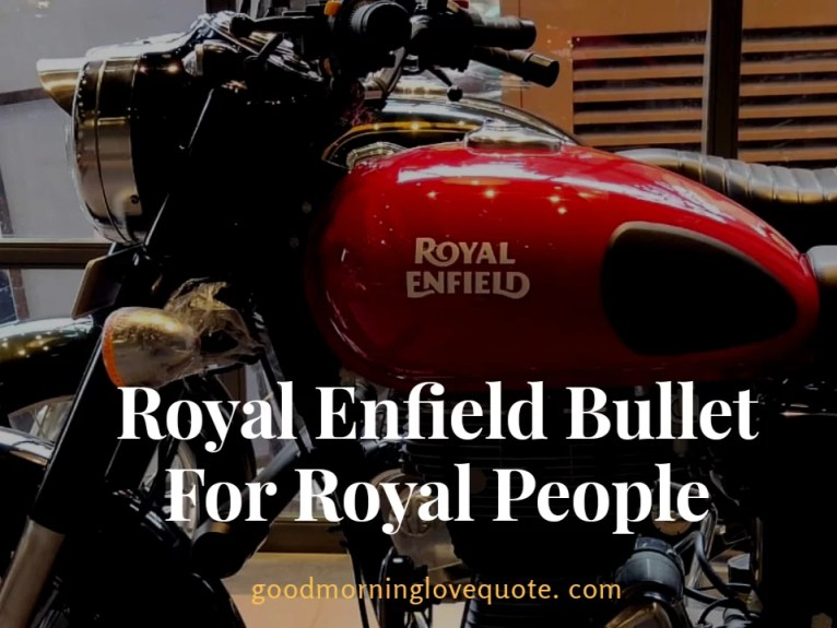 Bullet bike captions