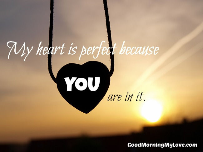 Good Morning Quotes For My Love : Cute love quotes from the heart with romantic images