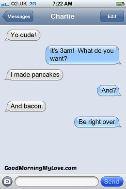 Funny Good Morning sms Messages_FunnyText Messages 2