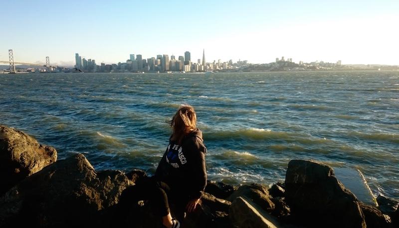 Premier jour de visite à San Francisco