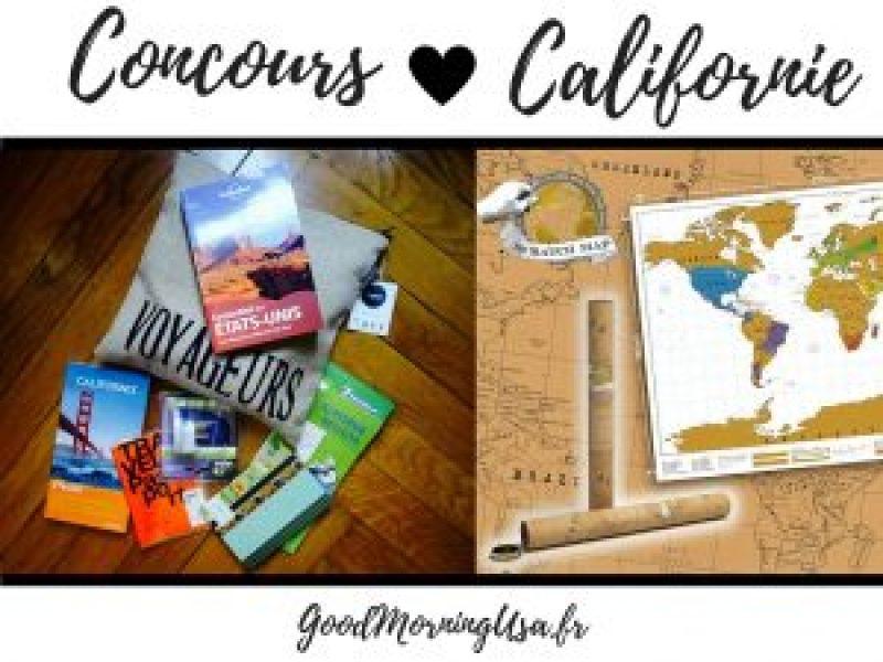 Concours californie blog usa