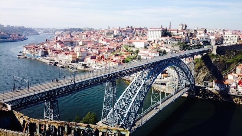 pont luis porto portugal visite de la ville