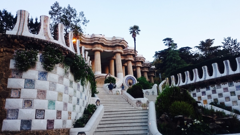 parc guell visiter barcelone