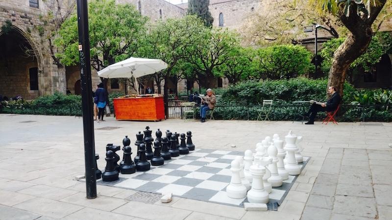 jardin visiter barcelone