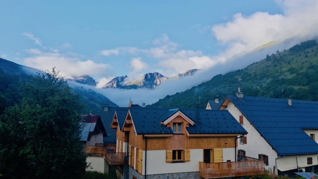 vue montagne vacance ete