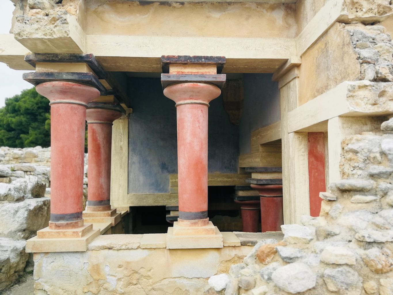 voyage en Crète knossos
