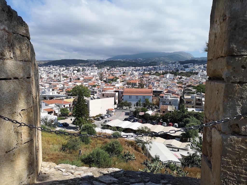 voyage en Crète forteresse de rethymnon