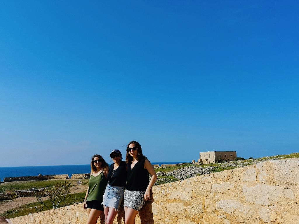 voyage en Crète entre copines