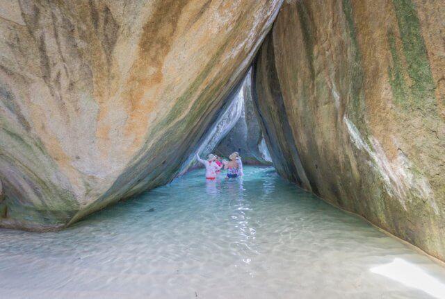 Britse Maagdeneilanden Caribbean Virgin Gorda The Baths