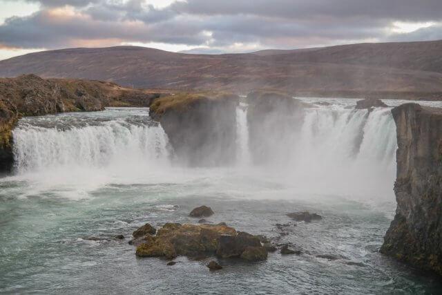 IJsland Gulfoss Bestemmingen september