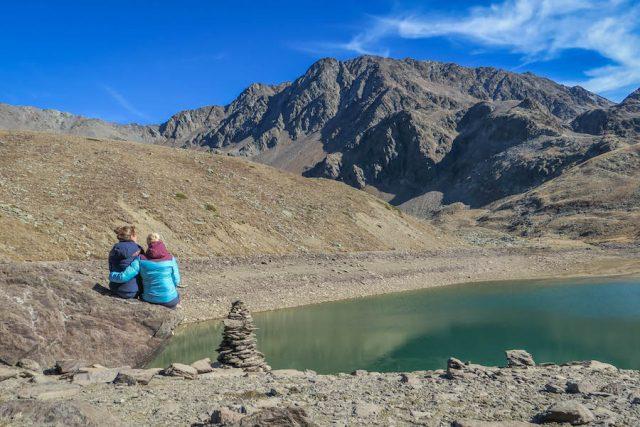 Bestemmingen September Zuid-Tirol Upiasee Wandeling
