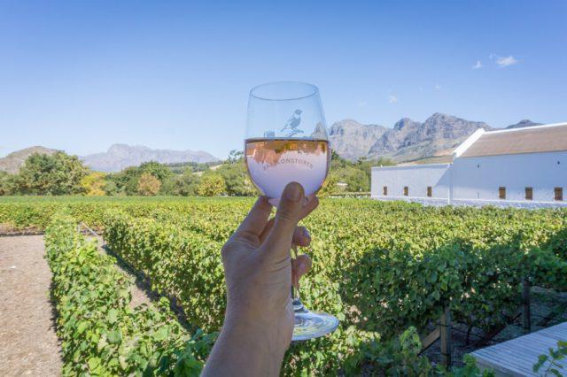 Kaapstad vakantie wijnproeverij