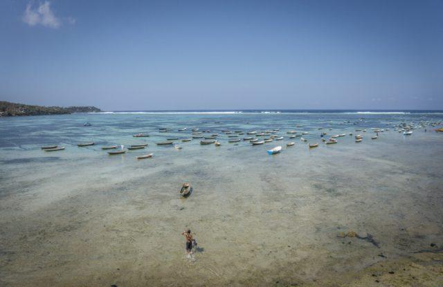 Bali Attracties Nusa Lembongan kelp lagune