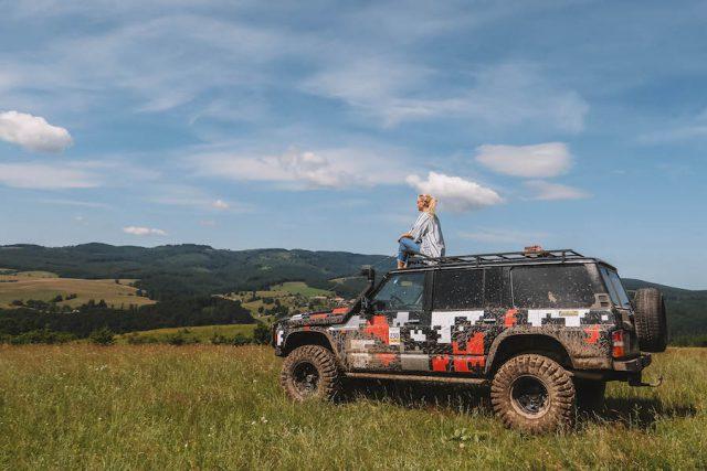 Sovjet Transsylvanië Offroad Jeep Tour