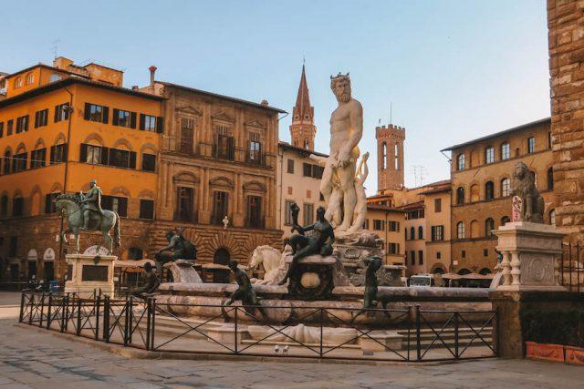 Florence bezienswaardigheden plein
