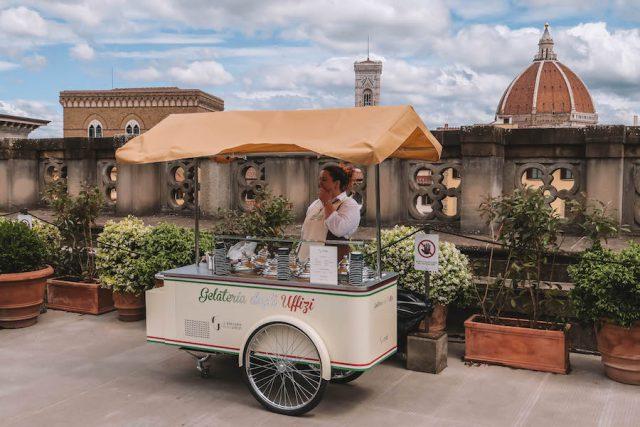 Florence Bezienswaardigheden Uffizi Ice
