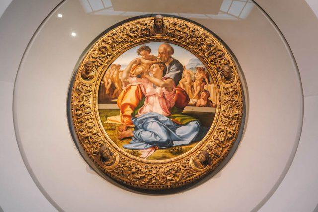 Florence Attracties Uffizi Leonardo da Vinci