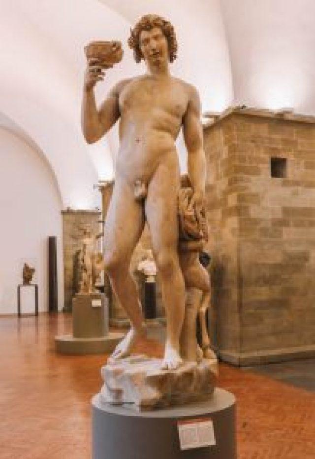 Nationaal Museum Bargello Florence Bezienswaardigheden Bacchus Michelangelo