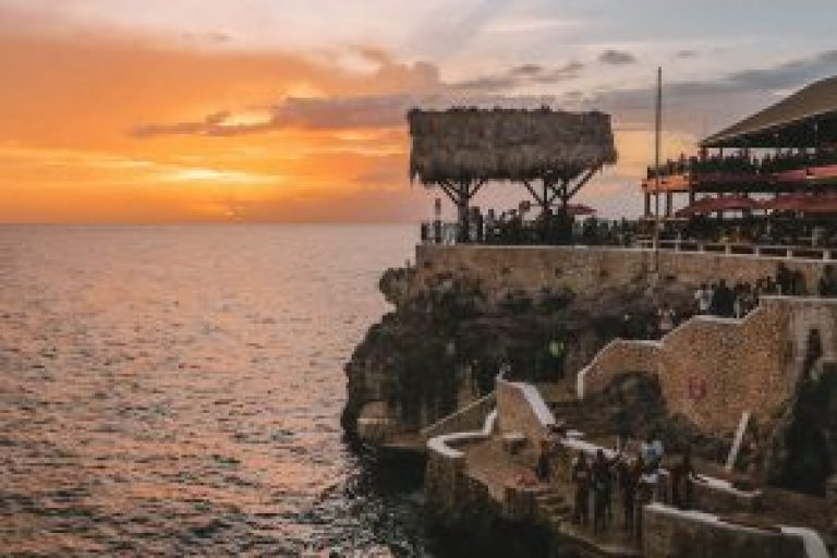 Jamaica Attracties Ricks Cafe Sunset