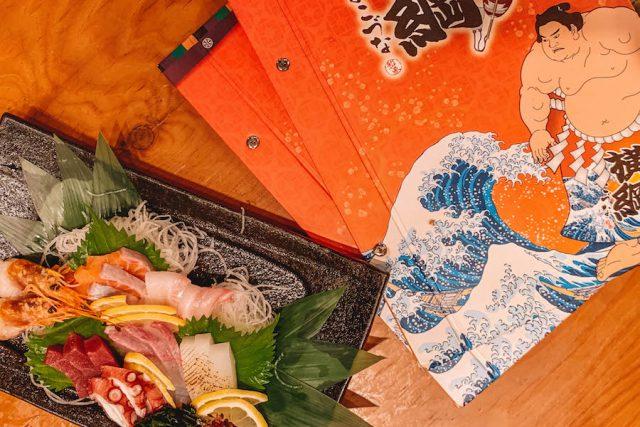 Osaka sashimi